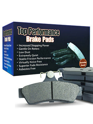Top Performance Brake Pad Front [For: Holden Commodore Vt,vu,vx,vy,vz] (Db1331T)