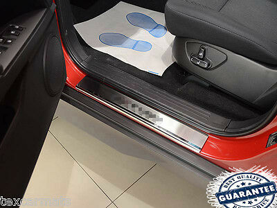 Ssang Yong Actyon 2006-2010 4pc Stainless Steel Door Sill Guard Scuff Protectors
