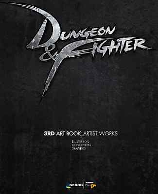 Dungeon & Fighter 3rd Art illustration book Gift Game Collection Postcard Coupon