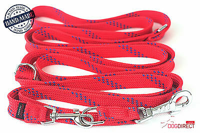 Adjustable Strong Long Police dog leash 300-165cm Training lead DogDirect London