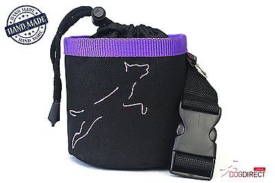 Dog, puppy TREATS for TRAINING, Bags for dogs treats, with a BELT! Hande-made