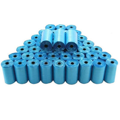 400 Biodegradable Pet Dog Garbage Bag Clean Waste Poop Bag Blue Refills 20 Rolls