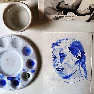 Custom Painted Watercolor Portrait Based On Your Photograph