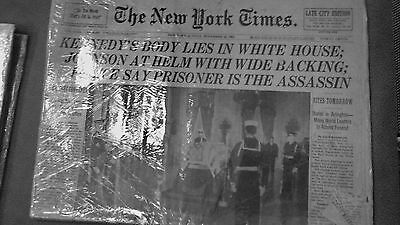 Rare Vintage Newspaper - Kennedy Body Lies In State At White House