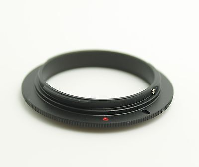 49 52 55 58 62 67 72 77mm EOS Macro Reverse Adapter Ring for Canon EF Mount