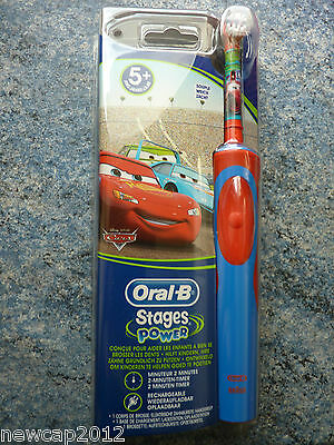 Brosse a dent electrique-Braun Oral B Cars  - Modele Disney - Stages Power