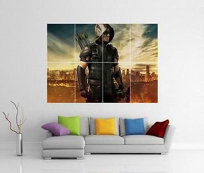 Arrow Tv Series Giant Wall Art Photo Picture Print Poster