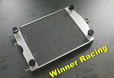56mm 2 Rows aluminum radiator for Ford 2N/8N/9N tractor w/flathead V8 engine