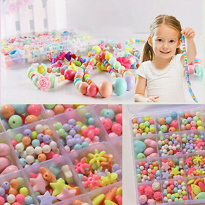 Mutil-color Candy Colors Of Children Wear Beads Bracelet DIY For Kids Toys Gifts
