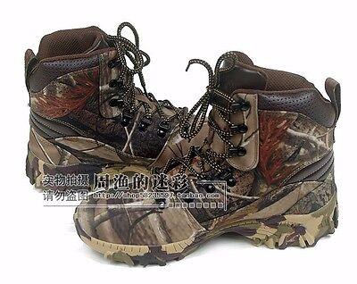 Four Season Hunting Shoes Bionic Camouflage Waterproof Boots