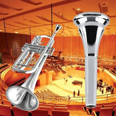Sliver Copper Alloy French Horn Mouthpiece For Conn / King French Horn KK