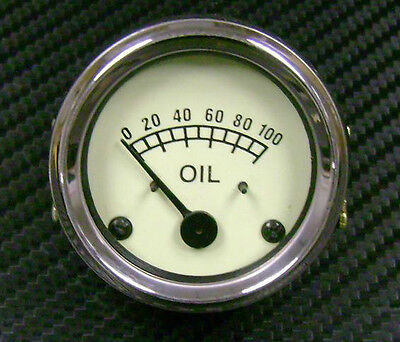 Ferguson TE20,TEA,TED,TEF Tractor Engine Oil Pressure Gauge