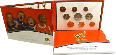 Irland 8,88 Euro 2003 Stgl. KMS 1 Cent - 2 Euro & 5 € Special olympics im Folder