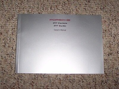 1997 Porsche 911 Carrera & Turbo Owner User Manual Coupe Convertible Targa S 4S