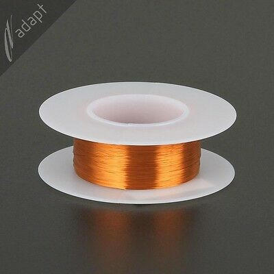 37 AWG Gauge Magnet Wire Natural 1000' 200C Enameled Copper Coil Winding