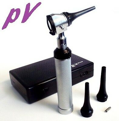 Professional Veterinary OTOSCOPE DIAGNOSTIC Kit SET Vet Instrument FREE LED BULB
