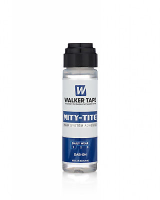 Walker Mity-Tite 1.4 oz Dab-on Daily Wear Hair System Adhesive