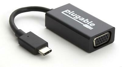 """Plugable """"Alt Mode"""" Monitor Adapter - USB-C to VGA for Windows, Mac, and Linux"""