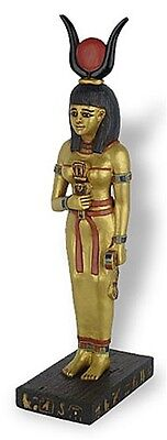 Hathor Protector of Women Egyptian Goddess Statue 9.5H E-338GP