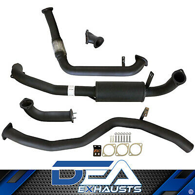 "Toyota Landcruiser 80 Series 4.2L 1Hd Td 3"" Inch Turbo Back Exhaust With Muffler"
