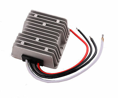 Waterproof DC/DC Car Voltage Converter 48V Step down to 12V 10A Power Supply