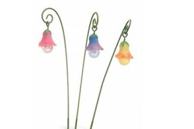 My Fairy Gardens Mini - Glow Flowers Set of 3 - Supplies Accessories
