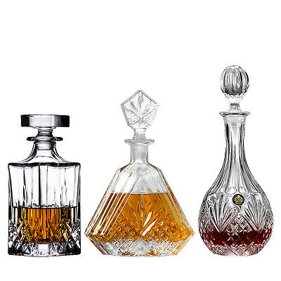 Homestia Crystal Glass Wine Decanter Alcohol Bottle Container Whiskey Carafe