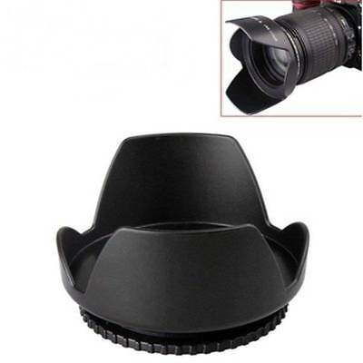 58mm Lens Hood Screw Mount Petal Crown Flower Shape for Canon Nikon Sony Pentax