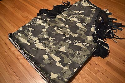 Charcoal Camouflage Denim Apron Tools Woodwork Barber Hair Stylist Artist Chef