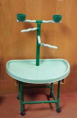 Small Parrot Stand #pp101 Great For Conures, Amazons, And Grays