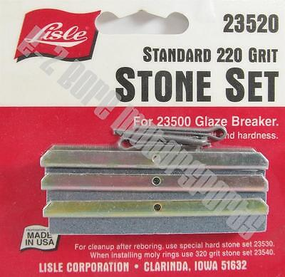 Lisle 23520 Replacement 220 Stone Set to fit 23500 Glaze Breaker Hone