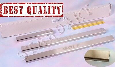 VW GOLF PLUS V/VI 2004-14 Stainless Steel Door Sill Guard Cover Scuff Protectors