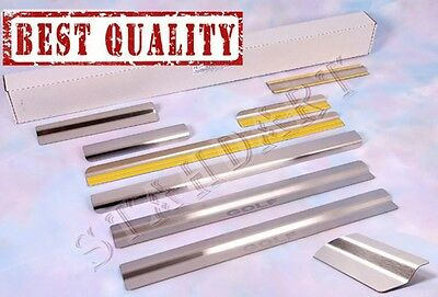 VW GOLF V HB 5D 2004-2008 Stainless Steel Door Sill Guard Cover Scuff Protectors