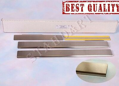 CHERY TIGGO 2006- 4pcs Stainless Steel Door Sill Guard Cover Scuff Protectors