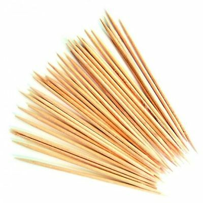 WOODEN COCKTAIL TOOTHPICKS CHERRY OLIVES STICKS  150,300.450,600 sticks
