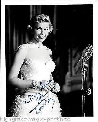 Doris Day Autographed Signed 8X10 Inscribed Jsa Authenticated Coa #n38877