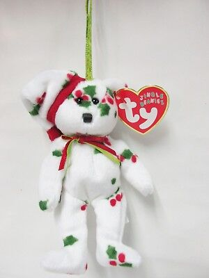 Ty Jingle Beanie * Snowgirl * Brand New with Mint Tags