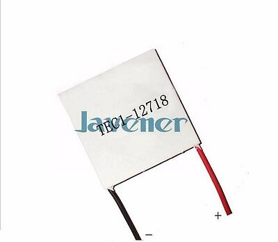 TEC1-12718 Heatsink Thermoelectric Cooler Peltier Cooling Plate 50x50mm 12V 18A