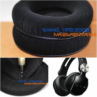 Soft Velour Ear Pads Cushion For Pulse Elite Edition Wireless Stereo Headphones