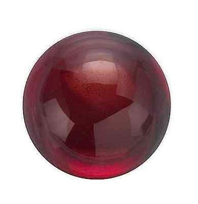 Natural Genuine Red Garnet AAA Rated Round Cabochon (3mm - 10mm) Loose Gemstones