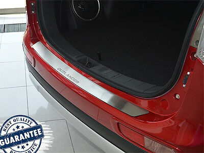 Mitsubishi OUTLANDER III 2013- Rear Bumper Protector Stainless Steel Scuff Plate