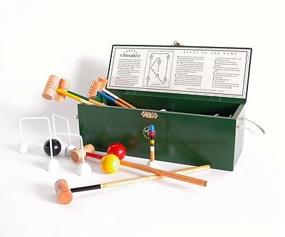 Indoor Croquet Set - Miniature Carpet Croquet Ideal Game for a Flat or House