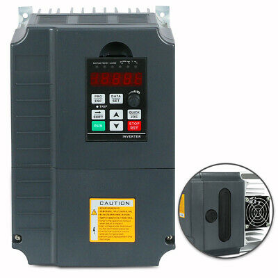 New 7.5Kw 220V 10Hp 34A Vfd Variable Frequency Drive Inverter Hot Product