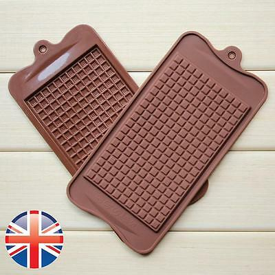*UK Seller* Silicone Chocolate Bars Baking Mould Bakeware