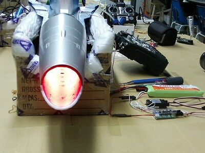 Afterburner (3 color) Lighting System for 90mm EDF Jets