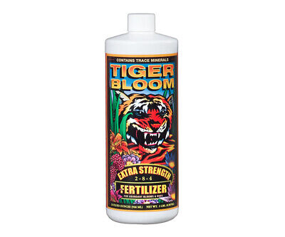 Fox Farm Tiger Bloom 1 Quart 32 Oz - foxfarm nutrients hydroponics