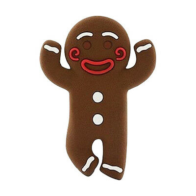 Gingerbread Man Earphone Cable Wire Headphone Winder Cord Smart Wrap Organizer