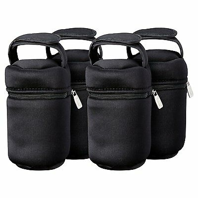 Tommee Tippee Insulated Bottle Bag, 2Count, New, Free Shipping