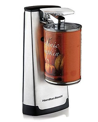 New! Hamilton Beach Electric Can Opener 76700 Extra Tall Knife Sharpener