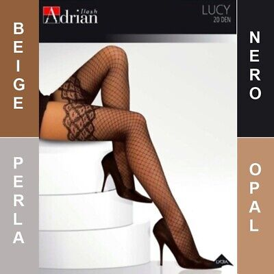 * Lucy Adrian * Patterned Ladies Tights  * 20 Den * 2/S - 6/Xl* U.